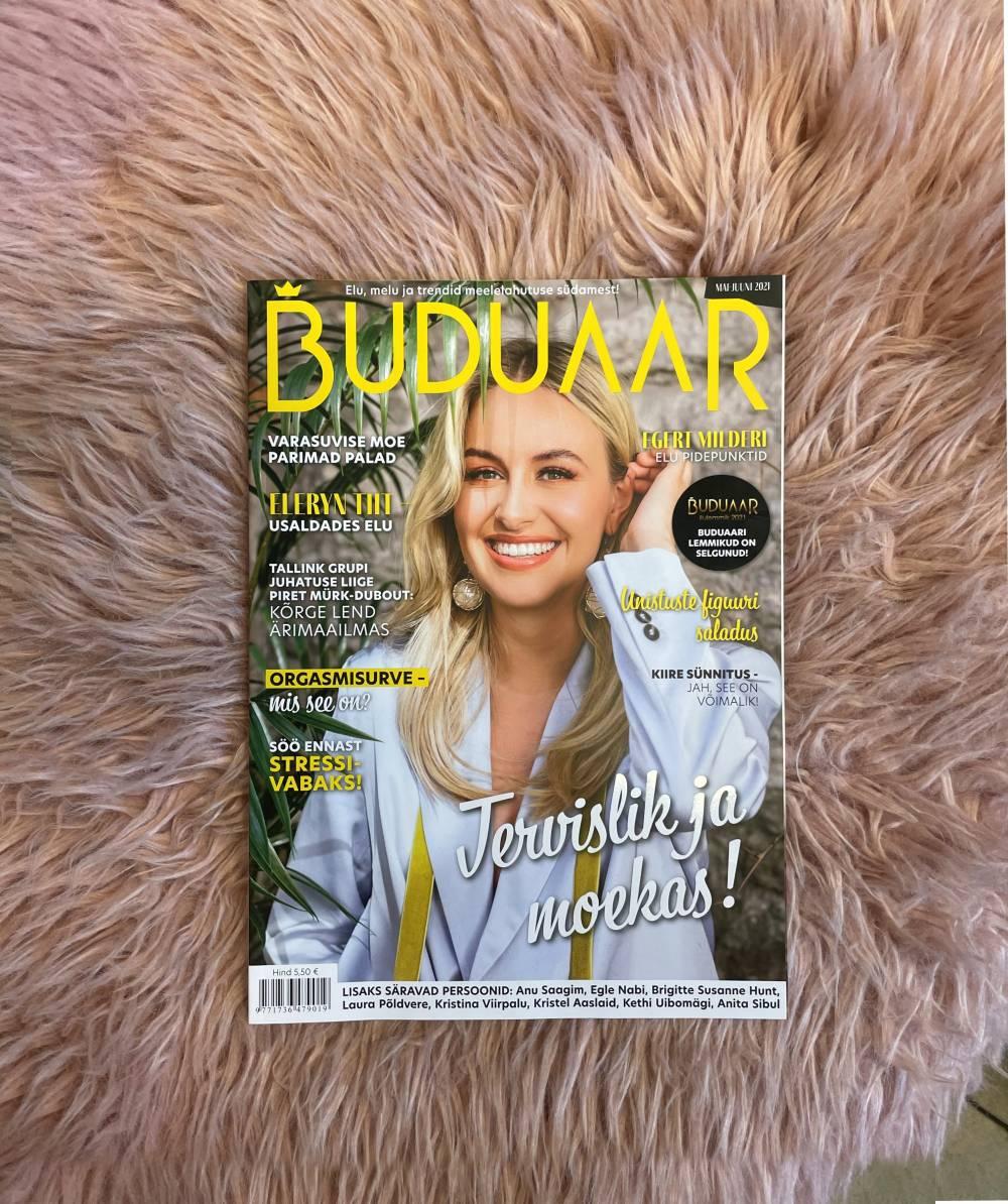 Личная история Dushka в Эстонии в журнале Buuduar
